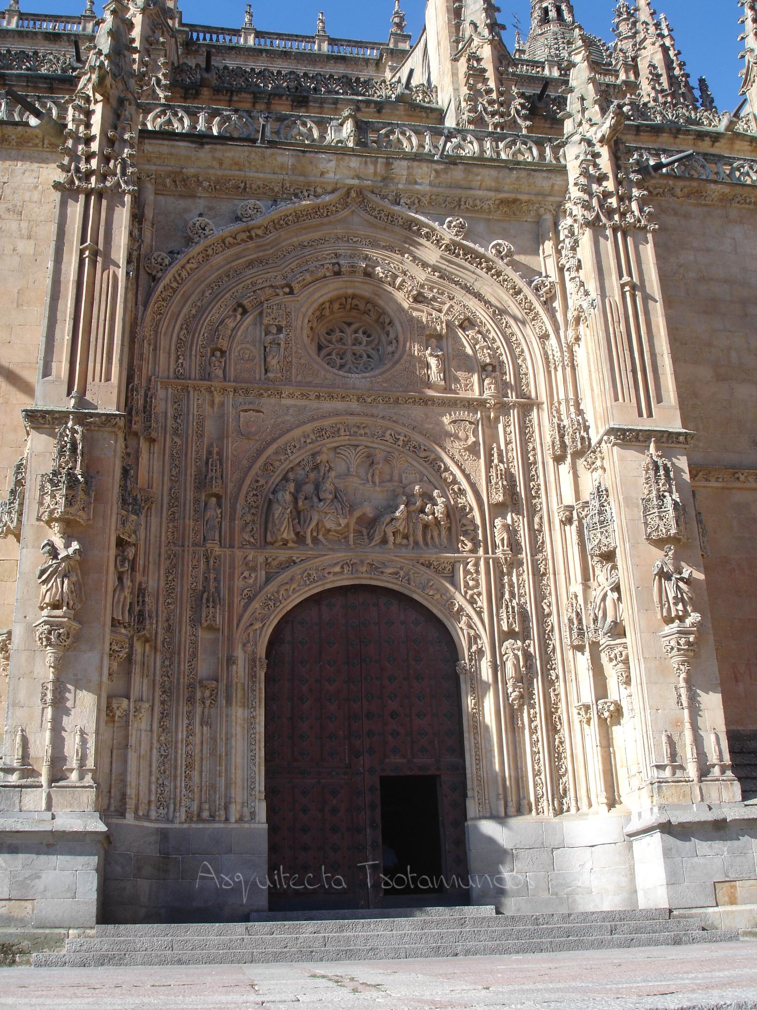 Salamanca – Puerta Norte Catedral Nueva