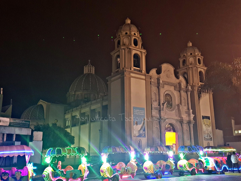 Vista general de la Catedral de Nuevo Chimbote