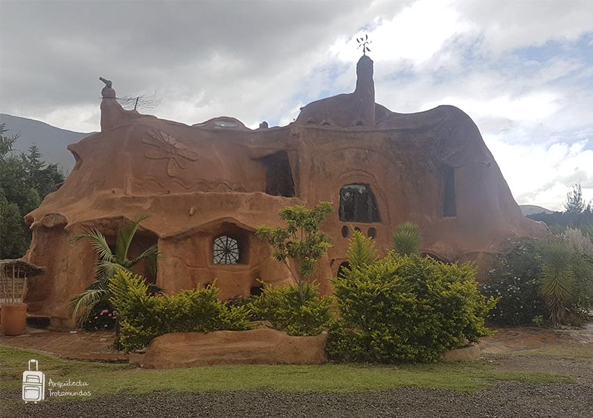 Fachada casa Terracota